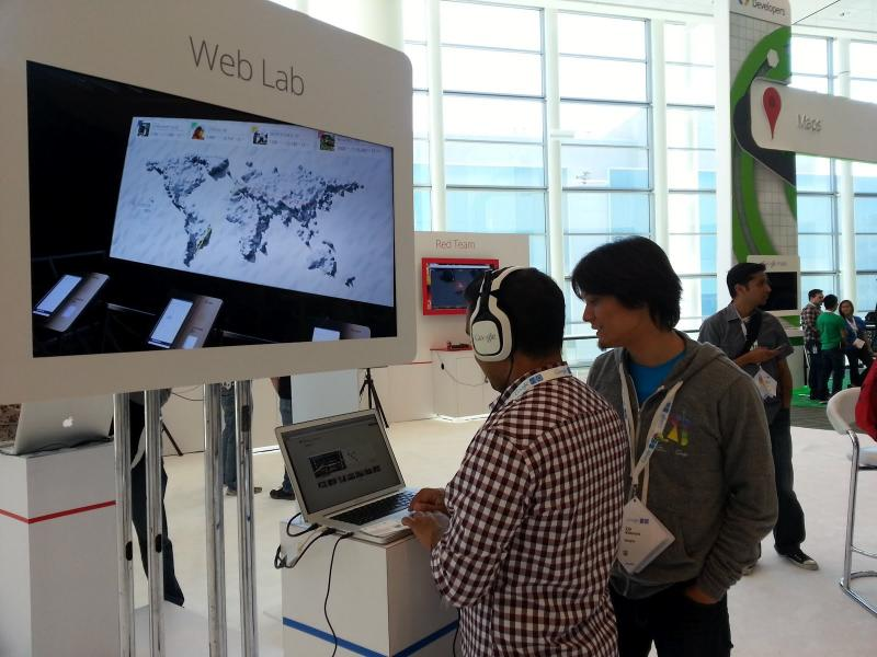Google I/O Web Lab Demo