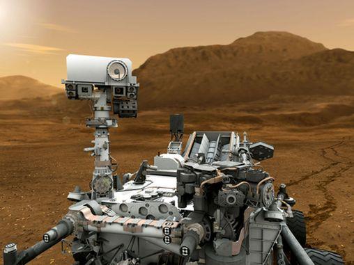 Curisity on Mars