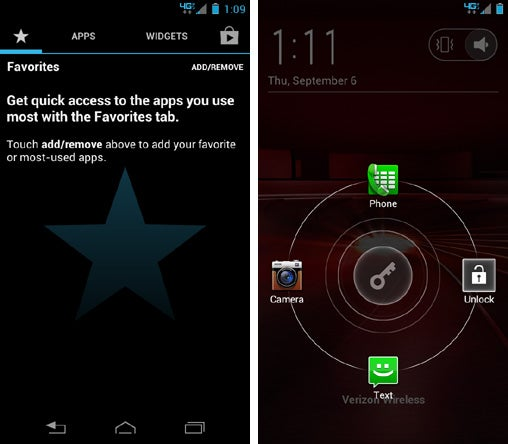 Motorola Droid Razr M Changes