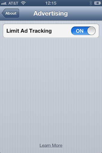 iOS 6 ads