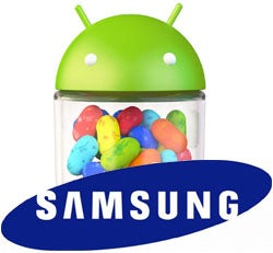 Samsung Android 4.1 Upgrade