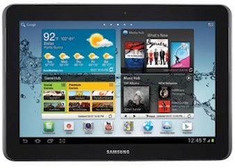 Samsung Galaxy Tab 2 with 10.1 in. screen
