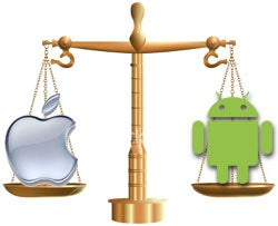 Apple, Android