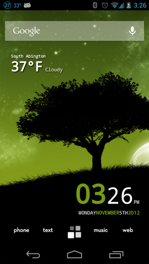 Android Home Screen #1