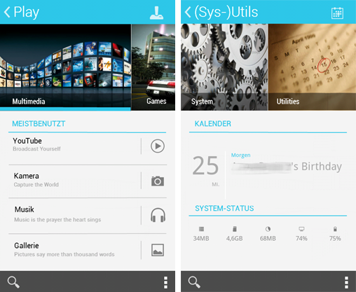 Android Home Screen #6 (II)