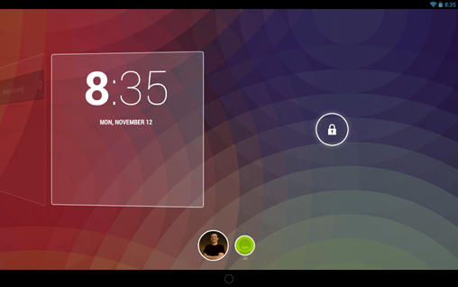 Android 4.2 Lock Screen Widgets (8)