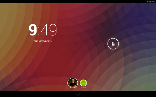 Android 4.2 Multiuser Support (2)