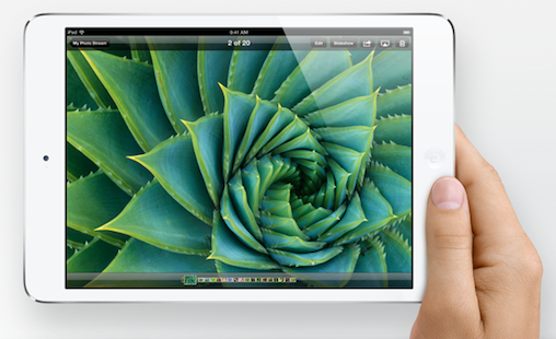 ipad mini 2 gets better display