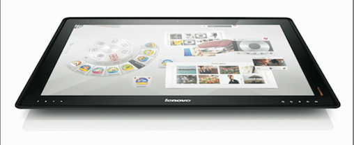 Lenovo's IdeaCentre Horizon Table PC