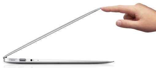 Thinner Apple MacBooks for 2013