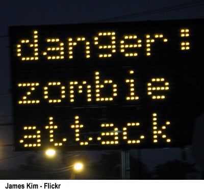 Hacker Broadcasts Emergency Zombie Apocalypse Warning On