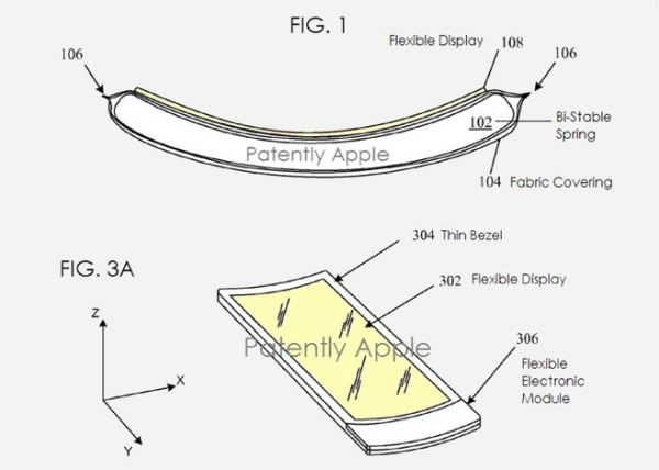 iWatch appears in latest Apple patent