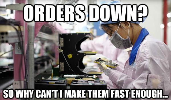Apple supply chain alarm bells