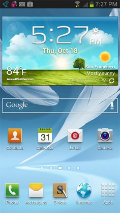 Samsung Galaxy TouchWiz