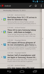 Google Reader App Press