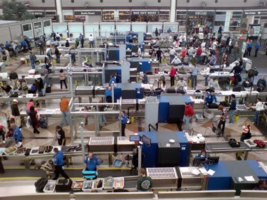 Beyond TSA airport security checkpoints, highlighting how ineffective airport security is by weaponizing everyday items sold in airports beyond the checkpoints
