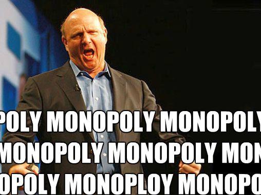Microsoft Google monopoly Europe