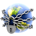 global supply chain icon