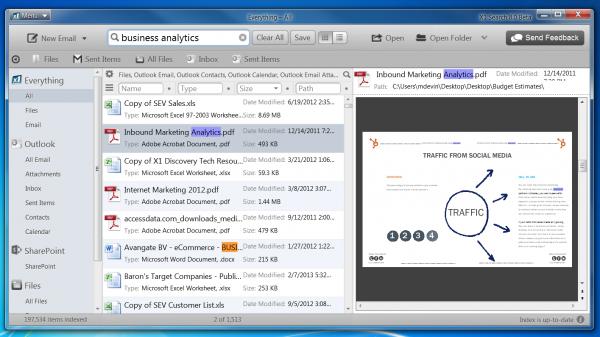 X1 Desktop Search 8