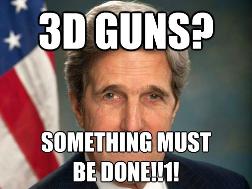 3D Guns: State Department does something