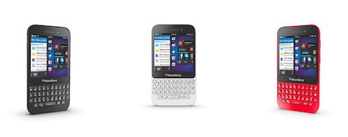 Blackberry's qwerty Q5 smartphone