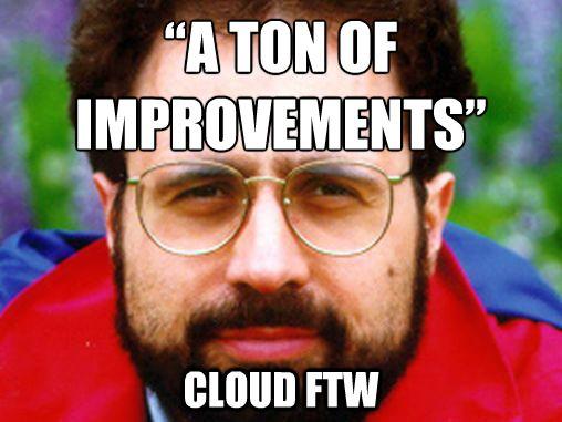 Urs Hölzle and Google cloud