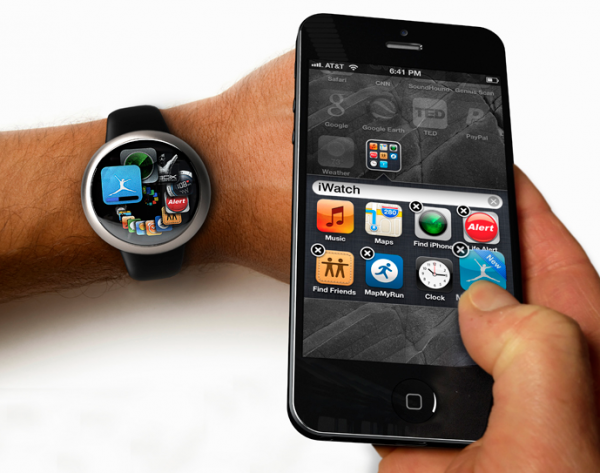 Apple iWatch patent revealed