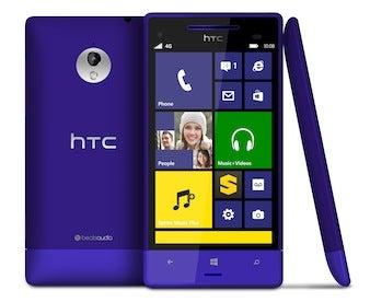 The HTC 8XT smartphone
