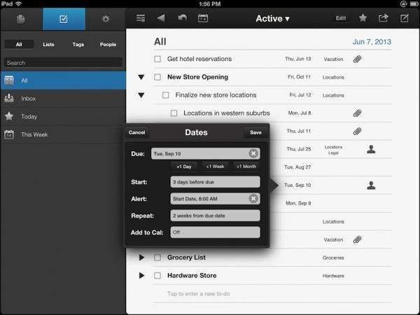 NoteSuite for Apple iPad