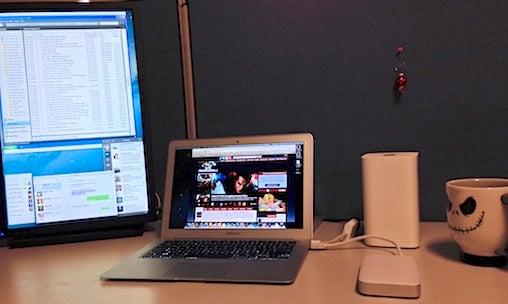 MacBook Air setup
