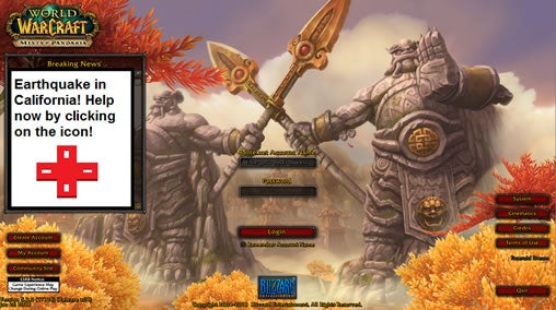 World of Warcraft Internet Response League crowdsourcing disaster alert