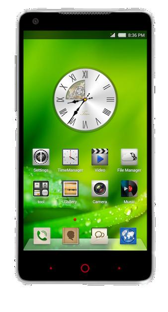 ZTE Nubia 5 smartphone