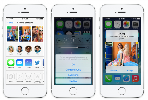 Quick guide: AirDrop for OS X Mavericks and iOS 7