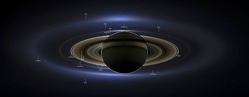 Saturn panoramic