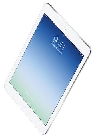iPad Air in white
