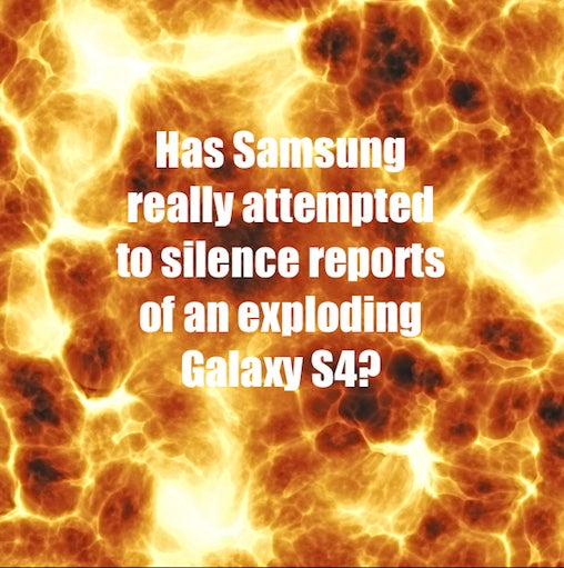 Does Samsung have something to hide?