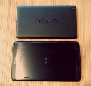 Nexus 7 vs. LG G Pad 8.3 Google Play Edition