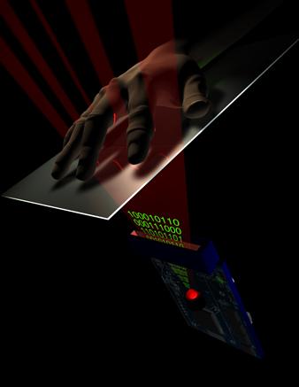 Palm scanning
