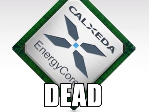 Calxeda ARM dead
