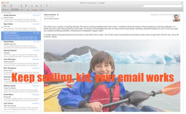 Troubleshooting tips for Apple Mail on OS X Mavericks