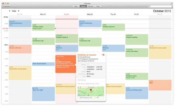 How do I unsubscribe to a calendar in Mavericks?