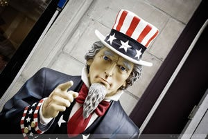 Uncle Sam, REAL ID, TSA security
