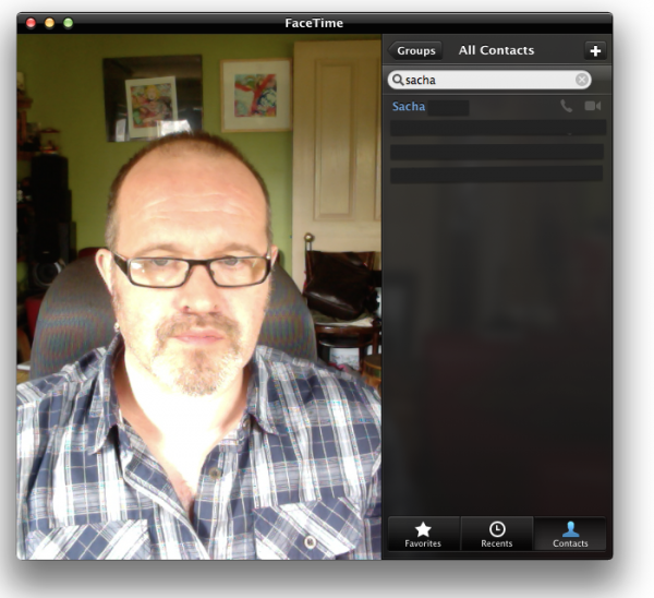 OS X Mavericks 10.9.2: Using FaceTime Audio on a Mac