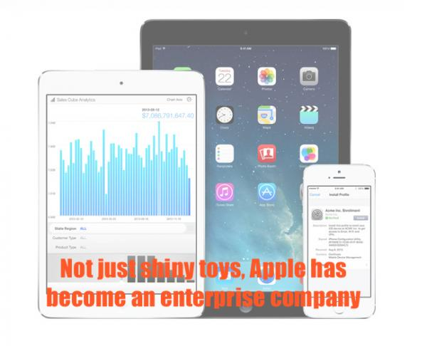 More than shiny: Apple is an enterprise firm