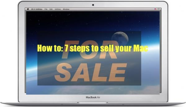 Apple, Mac, selling your Mac, guide, how to