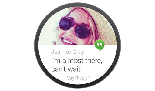 Android Wear Voice Input