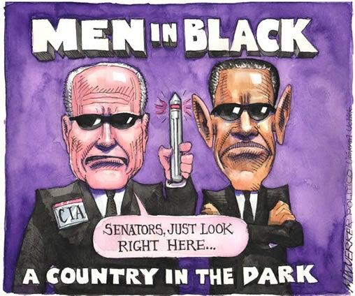 Sunshine Week 2014 cartoon by Matt Wuerker, Politico