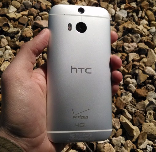 HTC One M8 Size