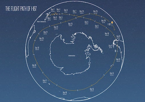 project loon flight path