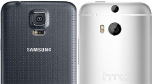Galaxy S5 vs. HTC One M8 Camera